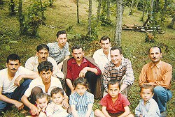 Hunting pals, near Trabzon